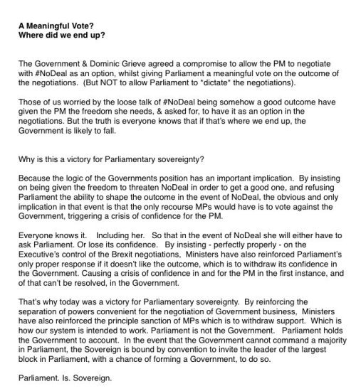 Open letter from George Freeman wrt no-deal Brexit