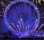 London Eye morphs into EU flag 1st January 2019