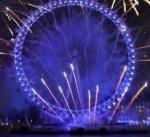London Eye morphs into EU flag 1st January 2019