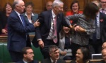Lindsay Hoyle is dragged to the Speaker's Chair