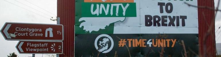 Irish Unity - Solution to Brexit - Sinn Fein poster