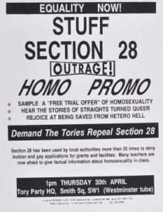 OUTRAGE - Stuff Section 28